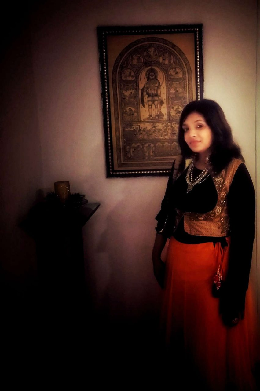 Diwali Fusion Wear Looks with black zara top by Miss F Mixer LOOK 2 pic 1