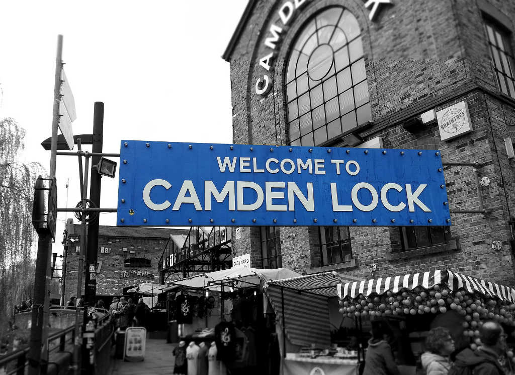 camden market in London, Magic of London - Part 1, Why I love London by Miss F Mixer