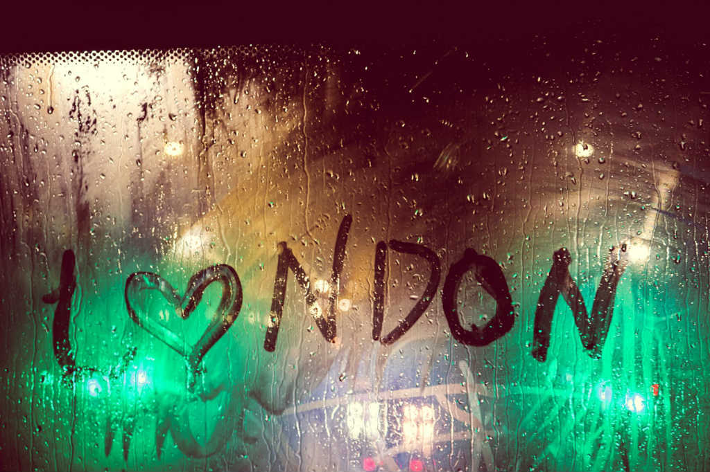 car window with I love london written, Magic of London - Part 1, Why I love London by Miss F Mixer