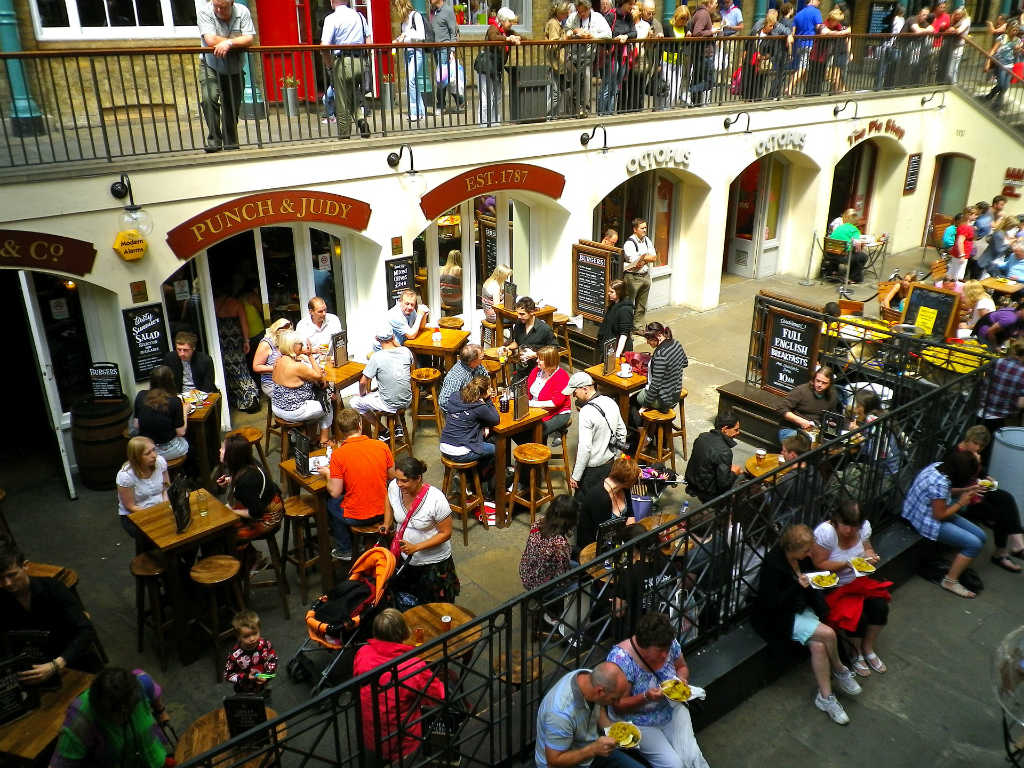 open air restaurant in covent garden, Magic of London Part 1 Why I love London by Miss F Mixer