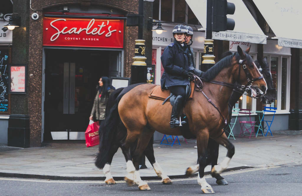 policemen on horses in London, Magic of London - Part 1, Why I love London by Miss F Mixer