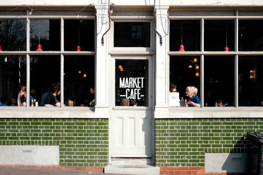 streetside cafe in London, Magic of London - Part 1, Why I love London by Miss F Mixer