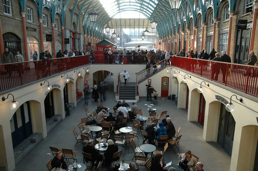 Restaurants and food courts are also aplenty in Covent Garden-things to do-See London like a local-Magic of London-Part Two-Miss F Mixer