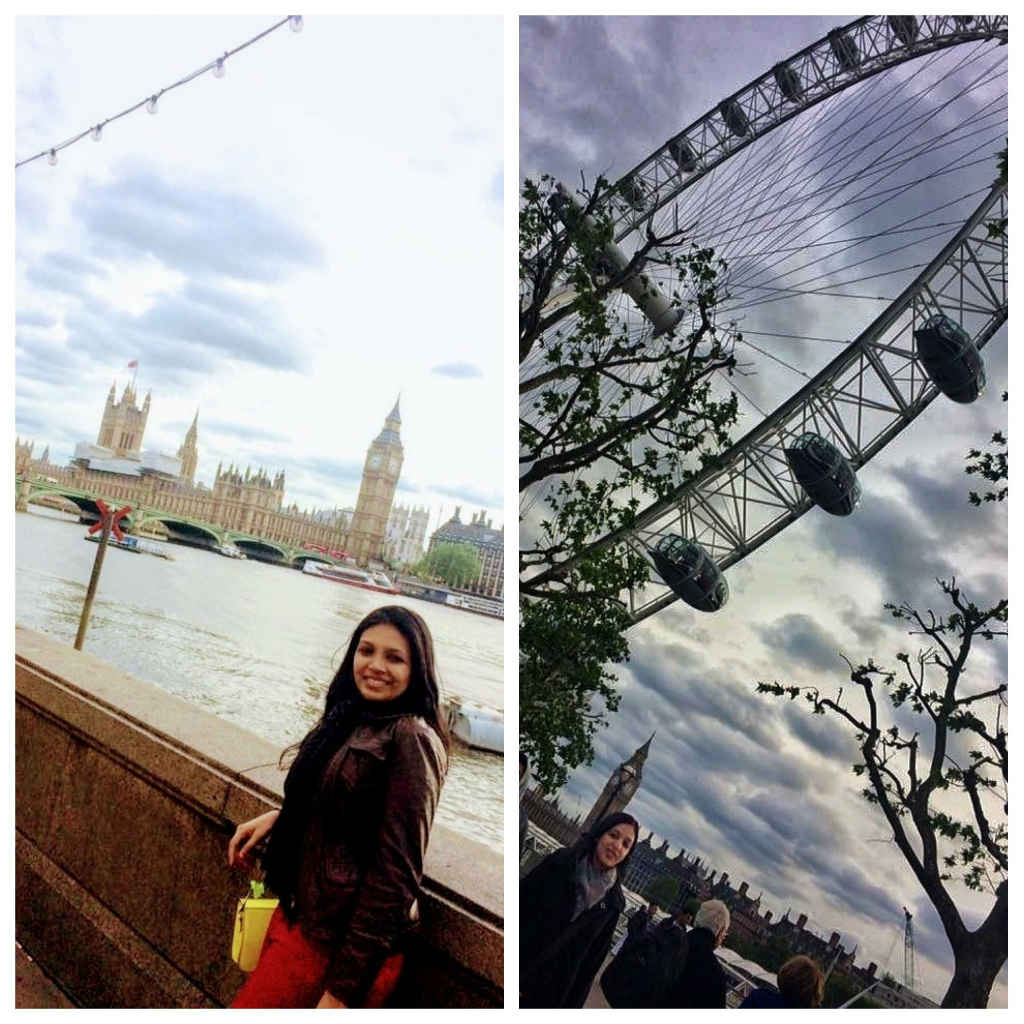 me and sister taking a walking along South Bank in London-things to do-See London like a local-Magic of London-Part Two-Miss F Mixer