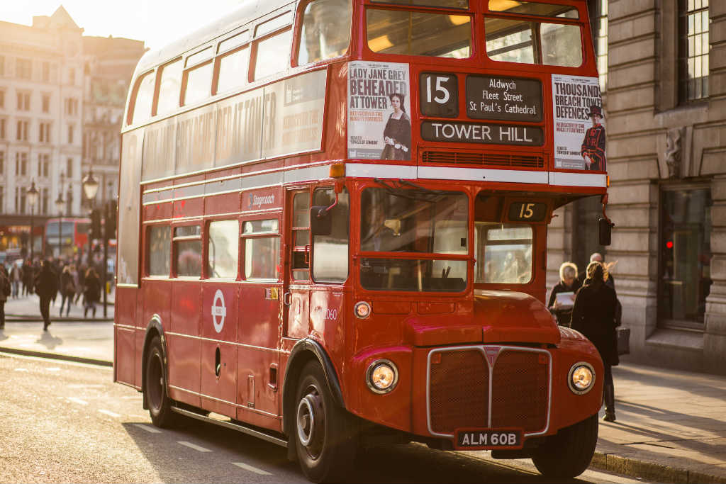 red bus-things to do-See London like a local-Magic of London-Part Two-Miss F Mixer