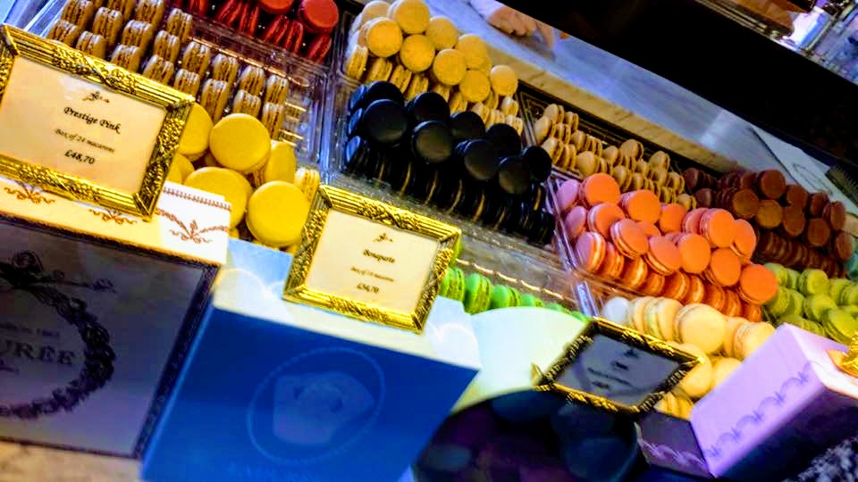 colourful-laduree-macarons-on-display-covent-garden-London-foods-you-must-eat